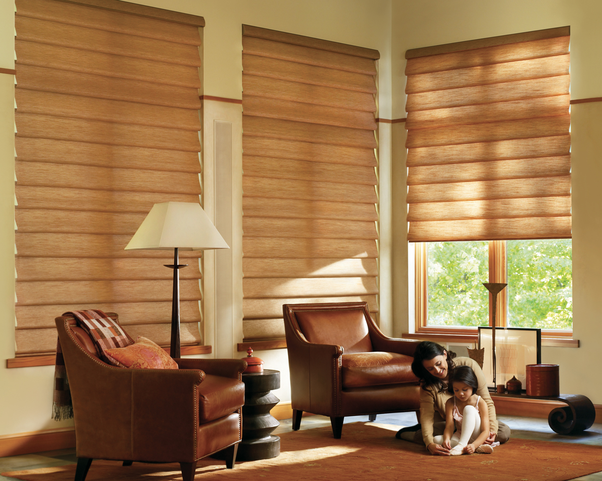 Preparing for window covering installation denver co for Living room blinds
