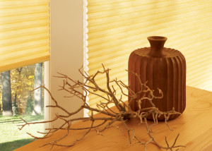 Hunter Douglas Applause Honeycomb Shades in Yellow