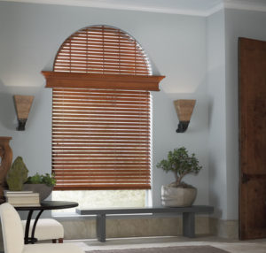 Parkland® Hardwood Blinds in the Den