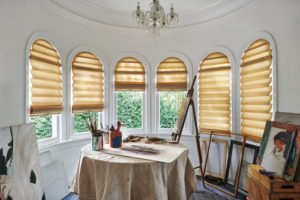 Vignette® Arched Modern Roman Shades