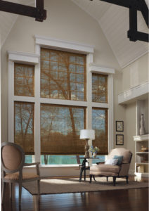 Provenance® Woven Wood Shades in the Living Room