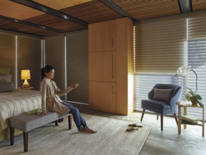 Nantucket™ Sheer Shadings with PowerView™ Motorization