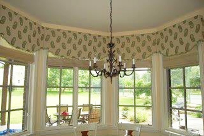 Window Treatment Valance Cornice Top Treatment Denver