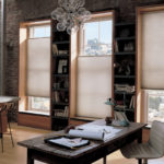 Duette® Honeycomb Shades in the office