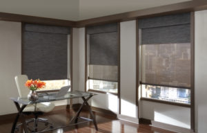 Designer Screen Shades in the Office